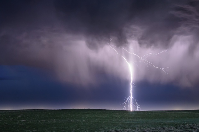 Lightning at Pawnee National Grassland